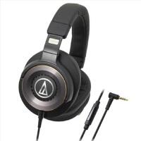 铁三角(Audio-technica)WS1100iS ATH-WS1100iS 便携式智能手机耳麦 黑色
