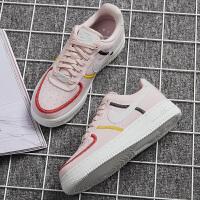 Nike耐克女鞋运动鞋AF1空军一号低帮耐磨休闲鞋厚底板鞋DD0226-600