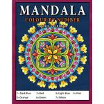 预订 Mandala Colour by Number: Coloring Book for Kids Ages 4-