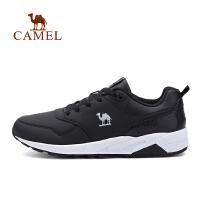 【领券满299减200】camel骆驼运动男款跑步鞋 耐磨防滑缓震时尚系带舒适运动