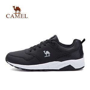 【每满200减100】camel骆驼运动男款跑步鞋 耐磨防滑缓震时尚系带舒适运动