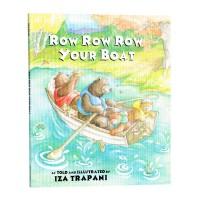 点读版 进口英文原版 你的小船摇啊摇 Row Row Row Your Boat 廖彩杏书单