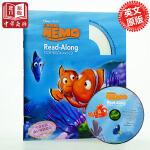 【中商原版】海底总动员 英文原版 Finding Nemo Read-Along CD 经典迪士尼英文有声书 正版CD