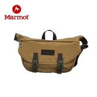 Marmot/土拨鼠新款简约时尚户外旅行邮差单肩包