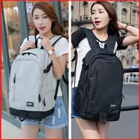 女士韩版大容量背包休闲旅行包双肩包时尚潮流高中学生书包