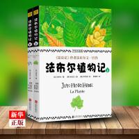 法布尔植物记 手绘珍藏版上下全2册 正版现货 法布尔作品 植物爱好者不可错过的 植物圣经 科普百科全书 9787559