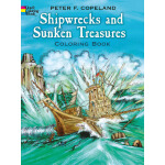 Shipwrecks and Sunken Treasures Coloring Book