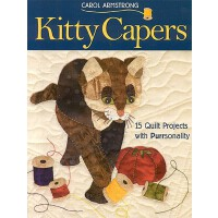 预订 Kitty Capers: 15 Quilt Projects with Purrsonality- Print