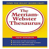 【中商原版】麦林韦氏词源 英文原版 The Merriam-webster Thesaurus Merriam-Web