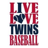 预订 Live Love Twins Baseball Journal: A Lined Notebook for t