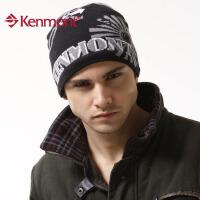 kenmont嘻哈帽 男士针织帽子 冬季毛线帽针织帽套头帽经典0630