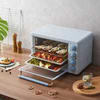 小熊烤箱家用烘焙小型多功能全自��35L大容量迷你�烤箱官方旗�