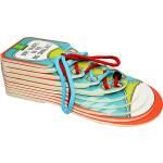 英文原版绘本 Joey Learns to Tie His Shoes 生活技能 学系鞋带 儿童认知启蒙学习 异形纸板