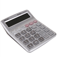 语音计算器计算机大屏幕大按键12位真人发音财务专用办公用品可弹奏音乐多功能学习文具