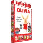 OLIVIA's Sensational Stories 小猪奥莉薇6册礼盒装绘本 Ready to Read 分级读