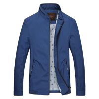 男装男士夹克外套薄款商务休闲外套立领夹克青年时尚夹克