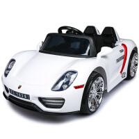 福儿宝新款儿童电动车四轮双驱摇摆遥控汽车可坐人宝宝小孩玩具车
