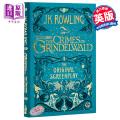 【原版包邮】Fantastic Beasts: The Crimes of Grindelwald 神奇动物在哪里2:格林德沃之罪 电影剧本 J.K. Rowling 哈利波特