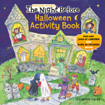 预订 The Night Before Halloween Activity Book [ISBN:978059309