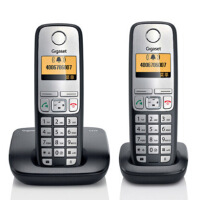 Gigaset|集怡嘉 原Siemens 【西门子】C510 套机德国制造 无绳电话机 1拖1