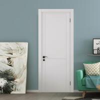 鑫宣美XM-M02实木复合门办公室卧室门含门套五金(5套起订)