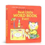 【发顺丰】进口英文原版 Richard Scarry's Best Little Word Book Ever 会讲故