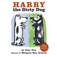 Harry the Dirty Dog Board Book 小狗哈利:好脏的哈利(卡板书) ISBN97800608