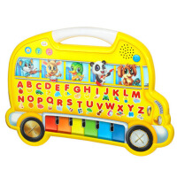 音乐点读宝宝早教机玩具2岁轻触摸巴士 儿童
