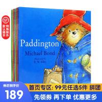 Paddington Collection 帕丁顿熊图画故事书系列10册 英文原版绘本 英伦漂的生活趣事