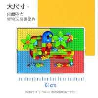 儿童玩具积木桌子10男孩3岁以上�犯咂醋�6益智力5女孩系列多功能8