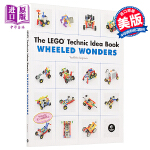 【中商原版】乐高创意搭建指南:车轮奇迹 车辆篇 英文原版 LEGO Technic Idea Book: Wheele