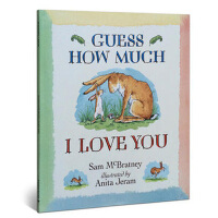 Guess How Much I Love You 猜猜我有多爱你ISBN9781406300406英语英文原版绘本