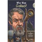 【中商原版】英文原版 Who Was Galileo?谁是伽利略