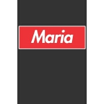 预订 Maria: Maria Planner Calendar Notebook Journal, Personal