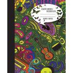 预订 Composition Notebook Graph Paper Journal Diary Guitar an