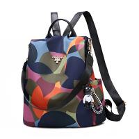 女士旅行包小背包双肩包2019新款韩版百搭时尚帆布牛津布书包