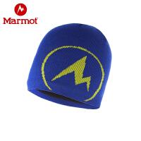 Marmot/土拨鼠户外休闲男女通款防寒保暖毛线帽情侣针织帽