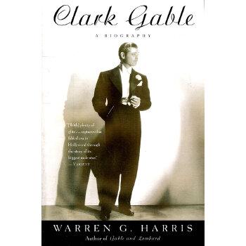 Clark Gable(ISBN=9780307237149) 英文原版