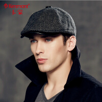 kenmont复古英伦贝雷帽男士休闲帽子鸭舌帽 韩版潮男鸭舌帽户外帽2368