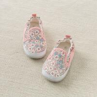 [2件3折价:57.9]戴维贝拉童装春季新款婴幼儿女宝宝软底步前鞋DB10249