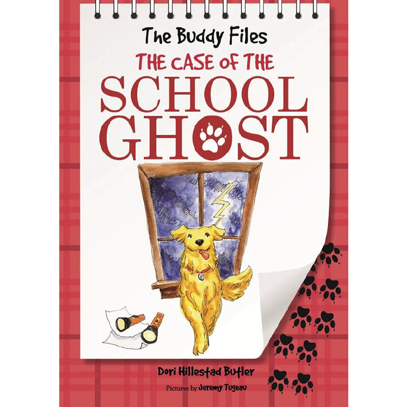 The Buddy Files: The Case of the School Ghost (Book 6)狗侦探6