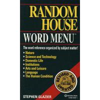 Random House Webster's Word Menu韦氏英语词典