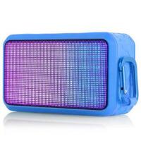 朗琴(ROYQUEEN)T600XL 无线蓝牙音箱便携 电脑手机音箱低音炮 炫彩小音响 音乐脉动4.0桌面音箱 瀚海蓝