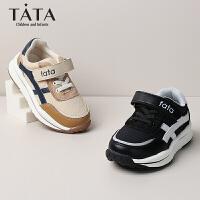 【年��r:129.1元】他她Tata童鞋�和��\�有�2020春夏新款女童休�e鞋中大童�n版�r尚男童跑步鞋