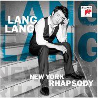 正版 朗朗2016钢琴曲新专辑 郎朗 纽约狂想曲 CD 写真歌词本 书签