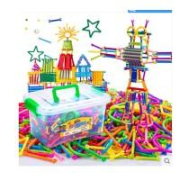 聪明魔术棒积木幼儿园玩具3-6周岁拼搭儿童拼插装男女孩益智玩具
