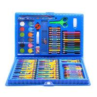 【86件送画本】儿童水彩笔绘画套装送画本礼盒画笔蜡笔幼儿园礼物小学生美术用品