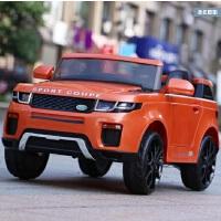 新款路虎儿童电动四轮双驱越野遥控摇摆可坐宝宝电瓶童车玩具汽车