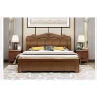 先创XC-C797中式实木床双人床