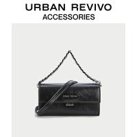 URBAN REVIVO2021春夏新品女士配件时尚链条手提包AW20TG2N2005